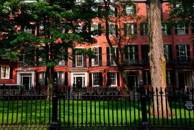 Historic homes of Beacon Hill, Boston, MA--Photographic Print