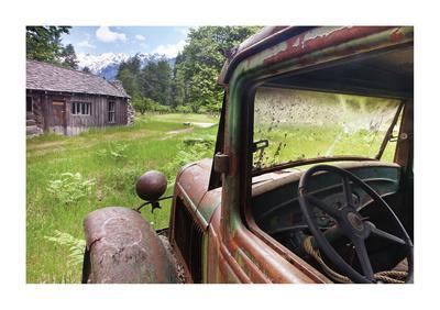 Historic Homestead-Donald Paulson-Giclee Print