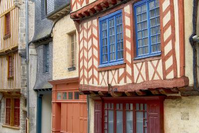 Historic Houses Of Vitre?-Cora Niele-Photographic Print