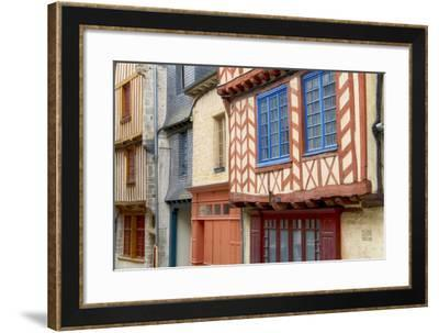 Historic Houses Of Vitre?-Cora Niele-Framed Photographic Print