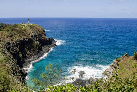 Historic Kilauea Lighthouse on Kilauea Point National Wildlife Refuge, Kauai, Hawaii-Michael DeFreitas-Photographic Print