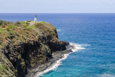 Historic Kilauea Lighthouse on Kilauea Point National Wildlife Refuge-Michael DeFreitas-Photographic Print