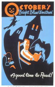 Historic Reading Posters - October Bright Blue Weather