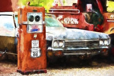 Historic Route 66-Philippe Hugonnard-Giclee Print