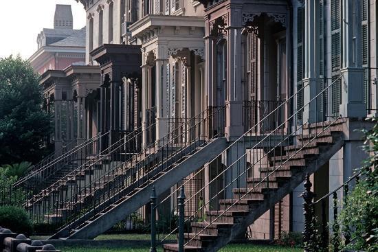 Historic Savannah, Bull Street, Savannah, Georgia, Usa, July 1983-Alain Le Garsmeur-Photographic Print