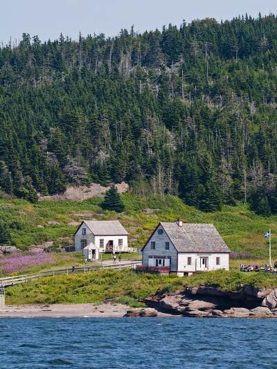 Historic Settlement on Ile Bonaventure Offshore of Perce, Quebec, Canada, North America-Michael DeFreitas-Photographic Print