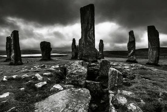 Historic Standing Stones in Scotland-Elizabeth May-Photographic Print