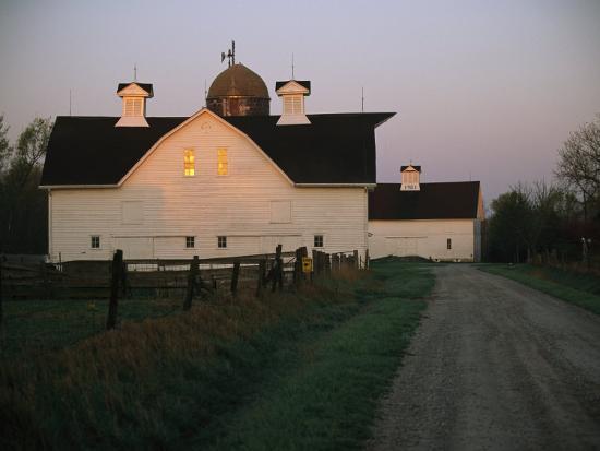 Historic Stevens Creek Farm Near Lincoln, Nebraska-Joel Sartore-Photographic Print