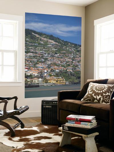 Historic Yellow Saint Tiago Fortress, Funchal, Madeira Island, Portugal-Cindy Miller Hopkins-Giant Art Print