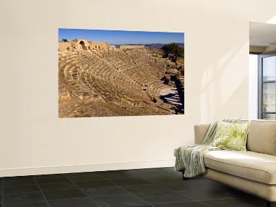 Historical 2Nd Century Roman Theater Ruins in Dougga, Tunisia, Northern Africa-Bill Bachmann-Wall Mural