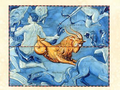 Historical Art of the Constellation of Capricornus-Detlev Van Ravenswaay-Photographic Print
