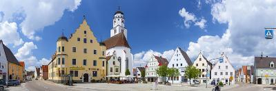 Historical Central Square, Hochstadt, Swabia, Bavaria, Germany-Doug Pearson-Photographic Print