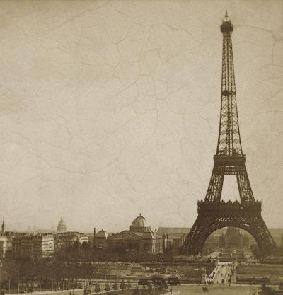 Historical Paris-Cristin Atria-Art Print