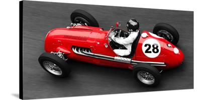 Historical race car at Grand Prix de Monaco-Peter Seyfferth-Stretched Canvas Print