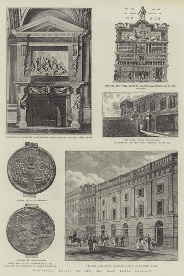 Historical Relics of the Old East India Company--Giclee Print