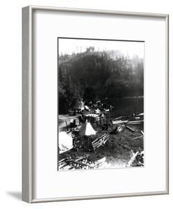 Historical Underwood (Big White Salmon) Indian Village, Circa 1936