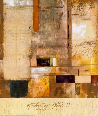 History of Words II-Joel Giovanni-Art Print