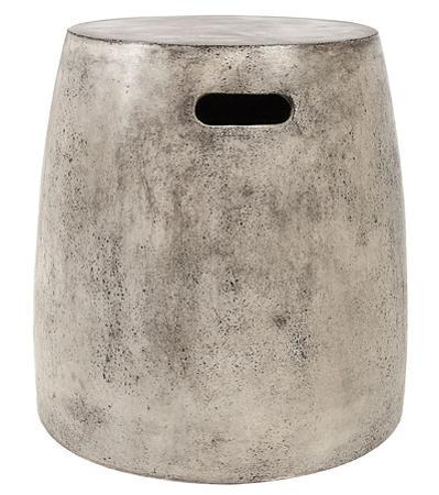 Hive Waxed Concrete Stool