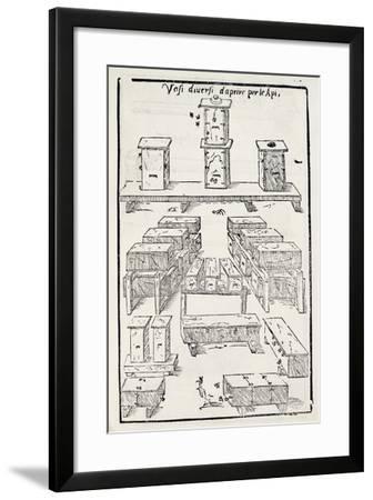 Hives--Framed Giclee Print