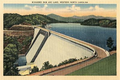 Hiwassee Dam, Western North Carolina--Art Print