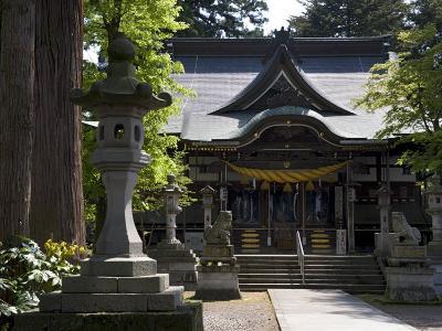 Hiyoshi Shinto Shrine in Echizen-Ono Town, Fukui Prefecture, Japan--Photographic Print