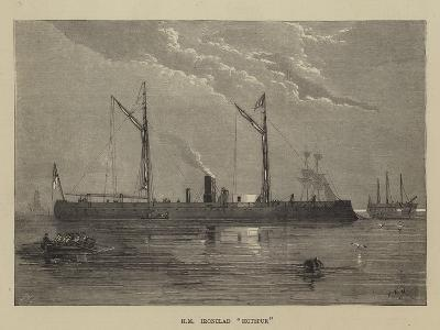 Hm Ironclad Hotspur-Walter William May-Giclee Print