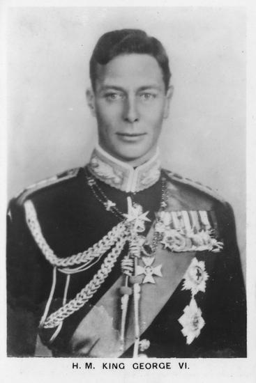 'HM King George VI' (1895-1952), 1937-Unknown-Photographic Print