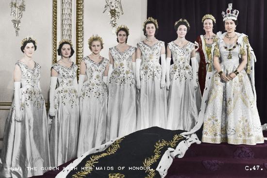 NAKED PD: queen elizabeth ii coronation 1953