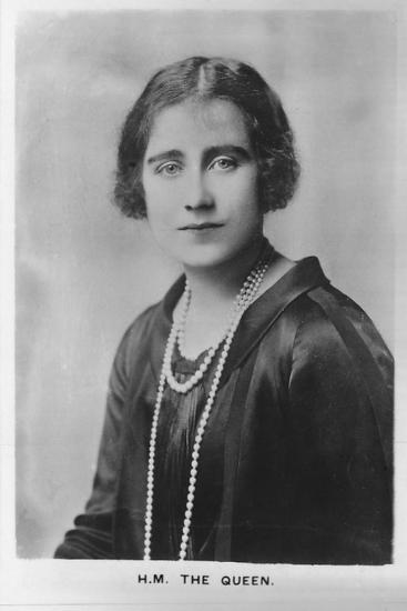 'HM Queen Elizabeth, the Queen Mother', 1937-Unknown-Photographic Print