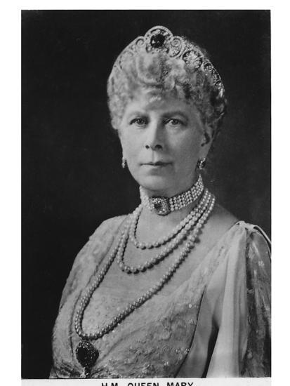 'HM Queen Mary' (1867-1953), 1937-Unknown-Photographic Print