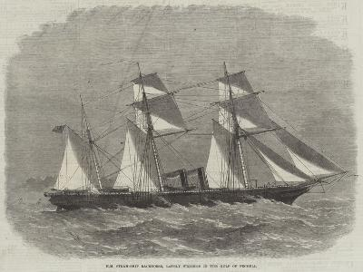 Hm Steam-Ship Racehorse, Lately Wrecked in the Gulf of Pecheli-Edwin Weedon-Giclee Print