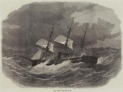 HMS Captain, Lately Lost at Sea-Edwin Weedon-Giclee Print