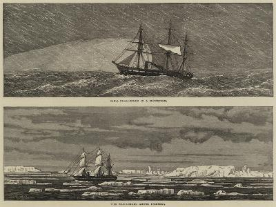 HMS Challenger--Giclee Print