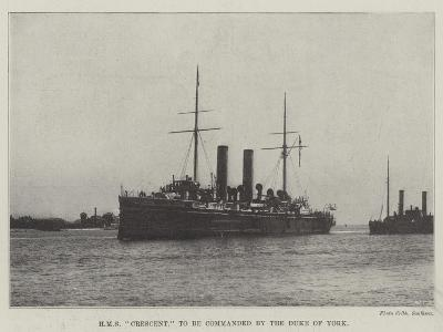 HMS Crescent, to Be Commanded by the Duke of York--Giclee Print