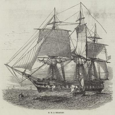 HMS Maeander--Giclee Print