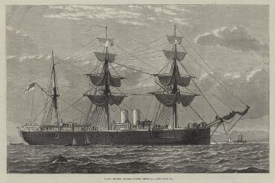 HMS Nelson, Double Screw, Ironclad--Giclee Print