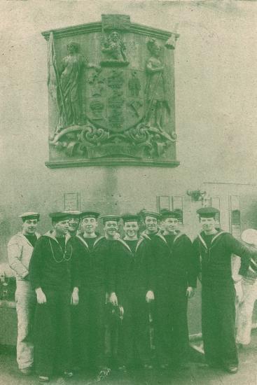 HMS 'New Zealand', c1918 (1919)-Unknown-Photographic Print