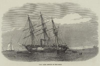 HMS Racer Aground on Ryde Sands-Edwin Weedon-Giclee Print