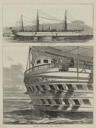 HMS Serapis--Giclee Print