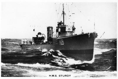 HMS Sturdy, S Class Destroyer, 1937--Giclee Print