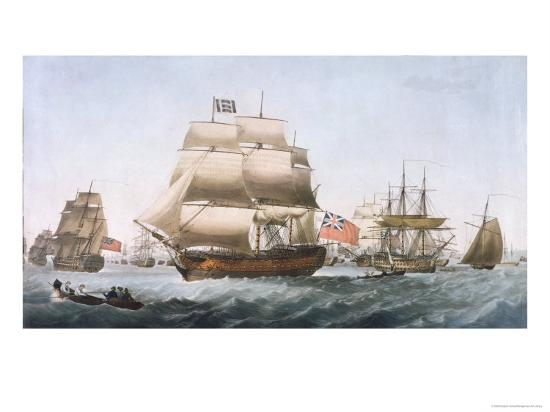 HMS Victory, 1806--Giclee Print