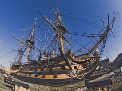 Hms Victory, Flagship of Admiral Horatio Nelson, Portsmouth, Hampshire, England, UK-James Emmerson-Photographic Print