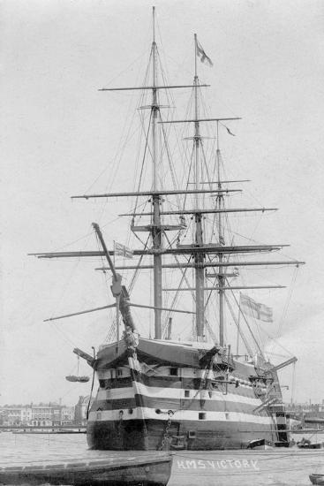HMS Victory, Portsmouth, Hampshire, 20th Century--Giclee Print
