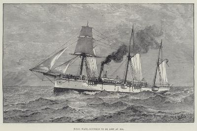 HMS Wasp, Supposed to Be Lost at Sea--Giclee Print