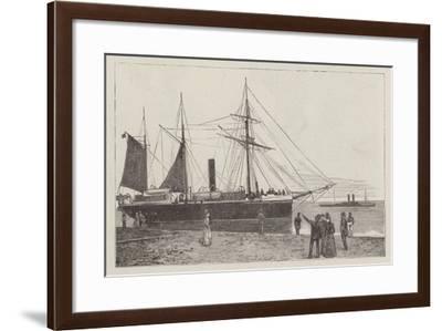 HMS Watchful--Framed Giclee Print