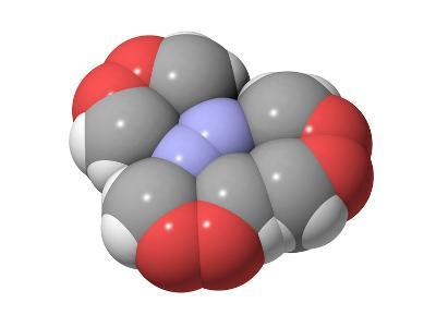 HMTD Explosive, Molecular Model-Laguna Design-Photographic Print