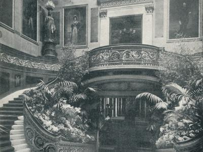 The Grand Staircase at Buckingham Palace, c1899, (1901)