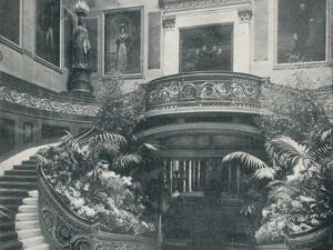 The Grand Staircase at Buckingham Palace, c1899, (1901) by HN King