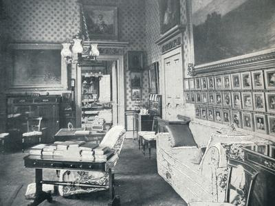 The Prince Consorts Dressing Room at Buckingham Palace, c1899, (1901)