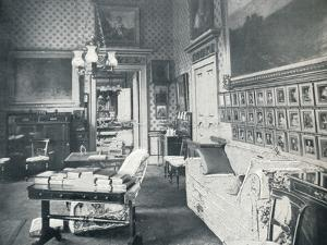 The Prince Consorts Dressing Room at Buckingham Palace, c1899, (1901) by HN King